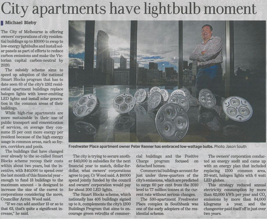 Led lights - Freshwater  Place article